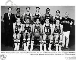 1968-69 MILWAUKEE BUCKS FIRST INAUGURAL BASKETBALL TEAM  8X1