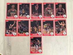 1984 Star Company Milwaukee Bucks Team Set w/ Moncrief promo