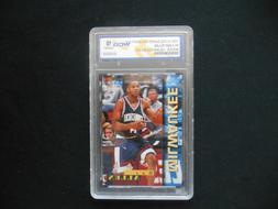 1996 Score Draft Day #4-A Ray Allen Rookie Card Milwaukee Bu