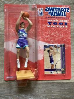 1997 JOHN STOCKTON STARTING LINEUP SLU NBA UPPER DECK UTAH J