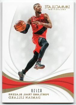 2018-19 Immaculate Collection Gold Parallel /10 Pick Any Com