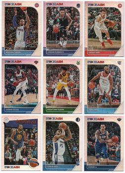 2019-20 Hoops Silver Parallel /199 Pick Any Complete Your Se
