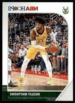 2019-20 Panini NBA Hoops Base #75 Wesley Matthews - Milwauke