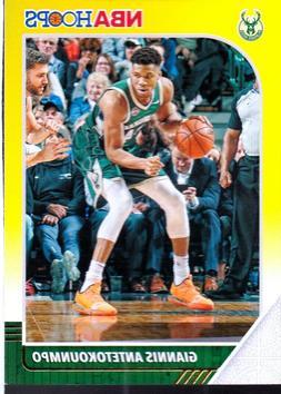 2019-20 PANINI NBA HOOPS GIANNIS ANTETOKOUNMPO #102 YELLOW P
