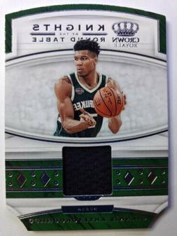 2019 Crown Royale Knights of the Round Table Giannis Antetok