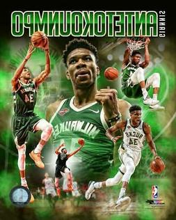 "2019 Giannis Antetokounmpo ""The Greek Freak"" Milwaukee Bucks"