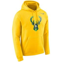 Nike 2019 Milwaukee Bucks City Edition Essential Logo Pullov