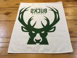 2019 NBA Playoffs Milwaukee Bucks Rally Towel 15x17 Game 5 v
