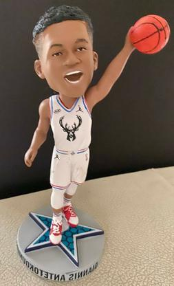 2020 Giannis Antetokounmpo Milwaukee Bucks All Star Bobblehe