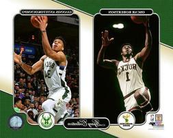 Antetokounmpo & Robertson Milwaukee Bucks NBA LICENSED un-si