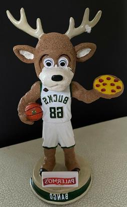 Bango Milwaukee Bucks Mascot Palermo Pizza Bobblehead