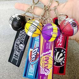 Basketball Sport NBA Team Keychain Basketball Souvenir Penda