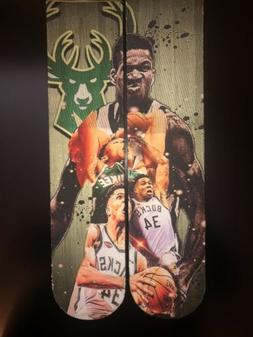 Custom Greek Freak Giannis Antetokounmpo Milwaukee Bucks Nba