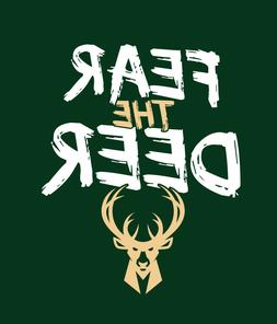 FEAR THE DEER Milwaukee Bucks Playoffs shirt Greek Freak Gia