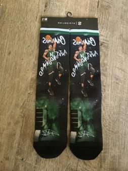 Giannis Antetokounmpo #34 Milwaukee Bucks NBA strideline rar
