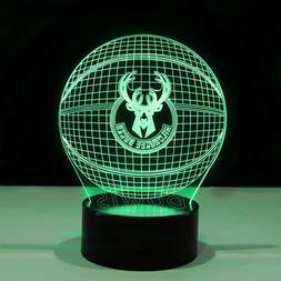 Milwaukee Bucks Giannis Antetokounmpo Khris Middleton LED Li