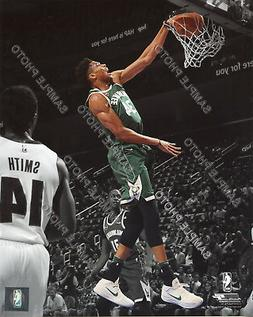 Giannis Antetokounmpo Milwaukee Bucks Authentic 8x10 NBA Act