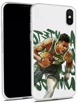 Giannis Antetokounmpo Milwaukee Bucks iPhone XR/XS/X/8/7/6s/