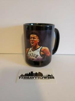 "Giannis Antetokounmpo Milwaukee Bucks ""Mean Muggin"" Coffee M"