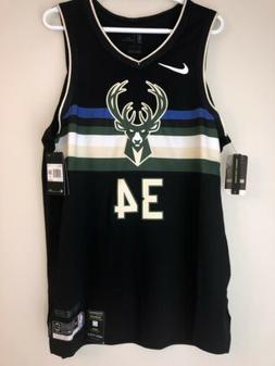 Giannis Antetokounmpo Milwaukee Bucks Nike NBA Authentic Vap