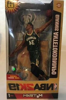 Giannis Antetokounmpo Milwaukee Bucks McFarlane Toys NBA 2K1