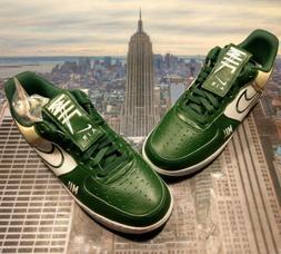 Nike iD Air Force 1 Low Premium NBA Milwaukee Bucks Mens Siz