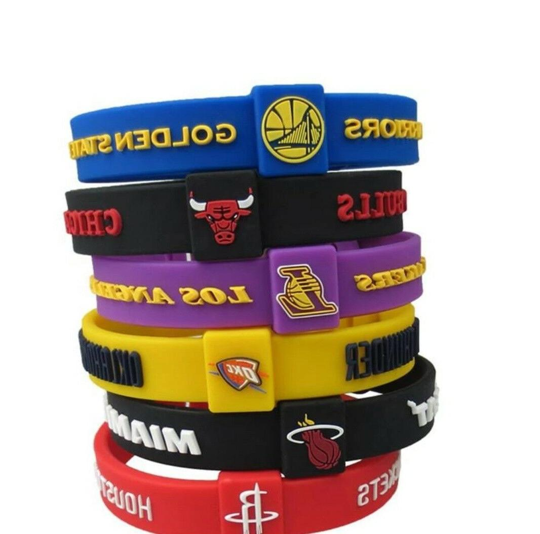 81 Type Silicon Bracelet Basketball League Fast Shipping!