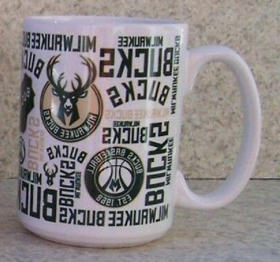 coffee mug sports nba milwaukee bucks new