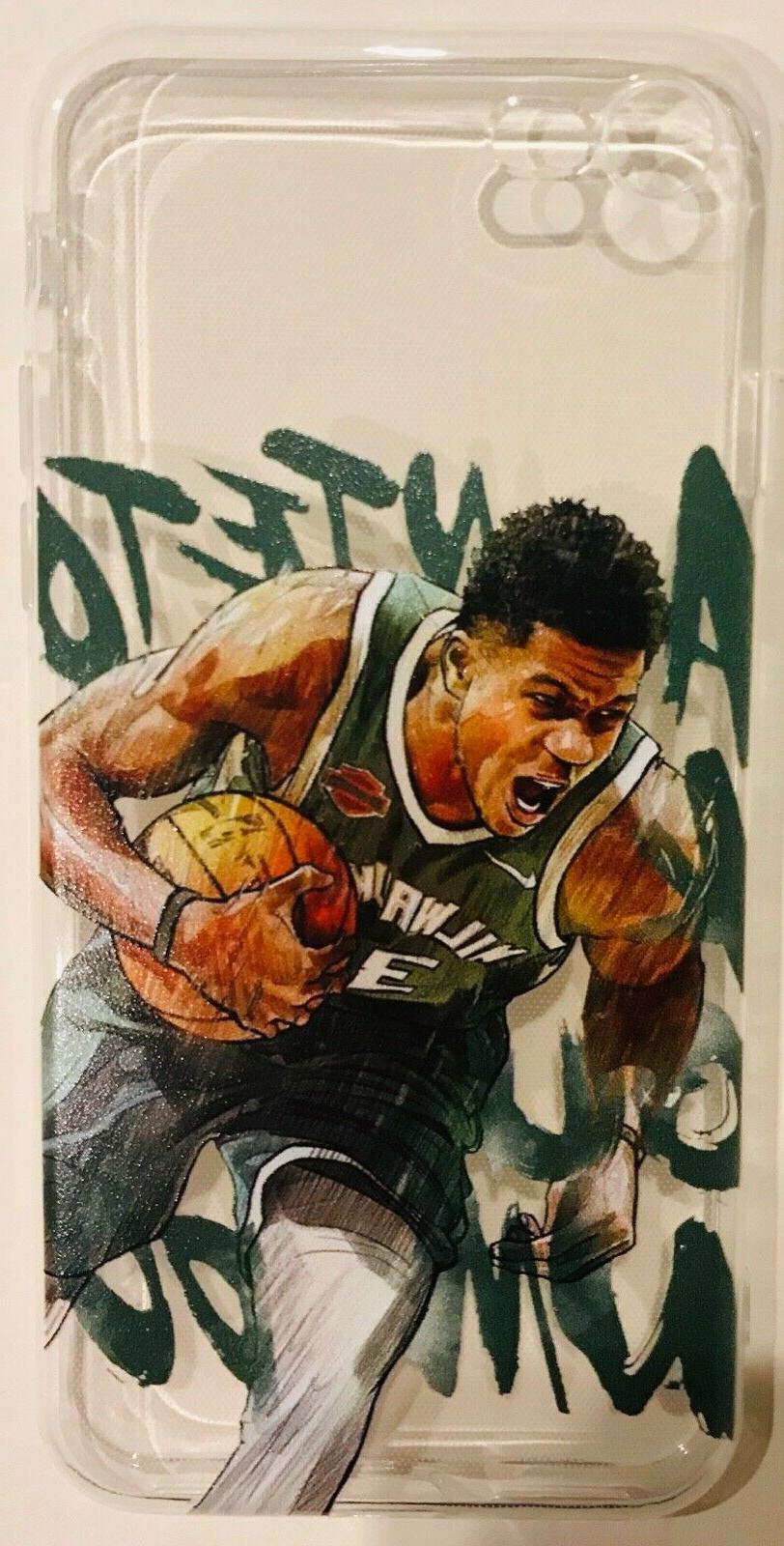 Giannis Milwaukee iPhone XR/XS/X/8/7/6s/6 Phone Case Cover