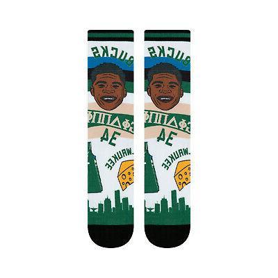 Giannis Milwaukee NBA Socks