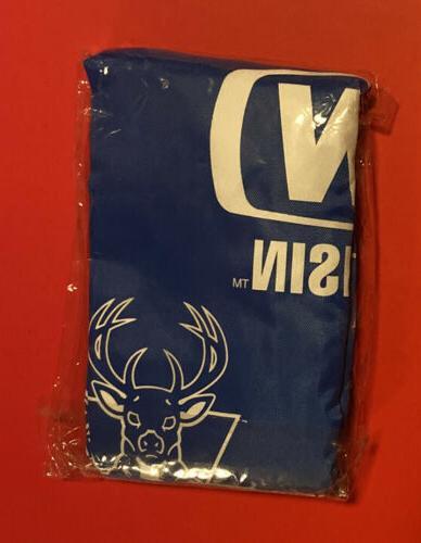milwaukee bucks drawstring backpack nba basketball vtg