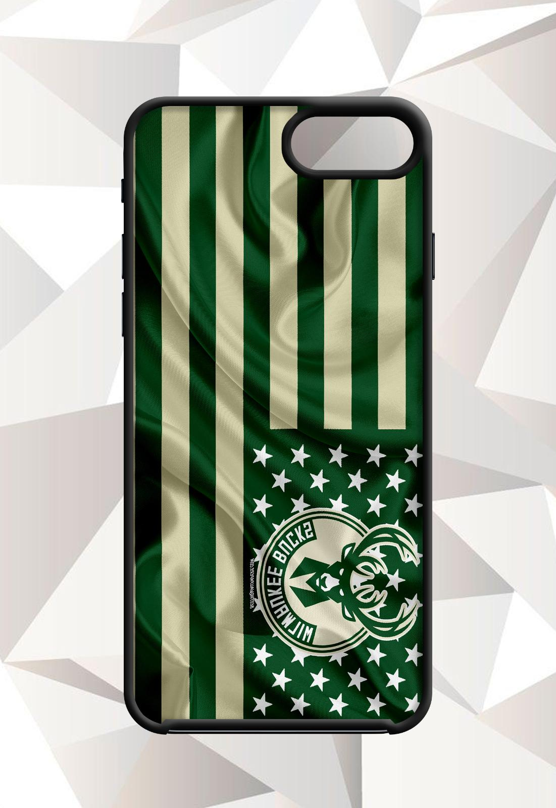 milwaukee bucks flag iphone 5 6 7