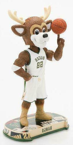 Milwaukee Bucks Mascot Bango Headline Special Edition Bobble