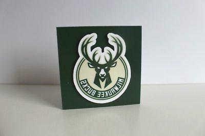 NBA Milwaukee Bucks sports Set of 2