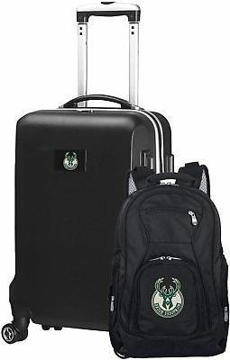 nba milwaukee bucks deluxe 2 piece backpack