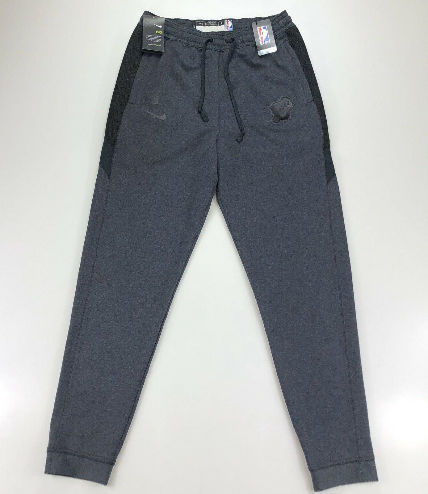 Nike Milwaukee Official Gray Sweatpants Large