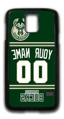 nba milwaukee bucks personalized name number samsung