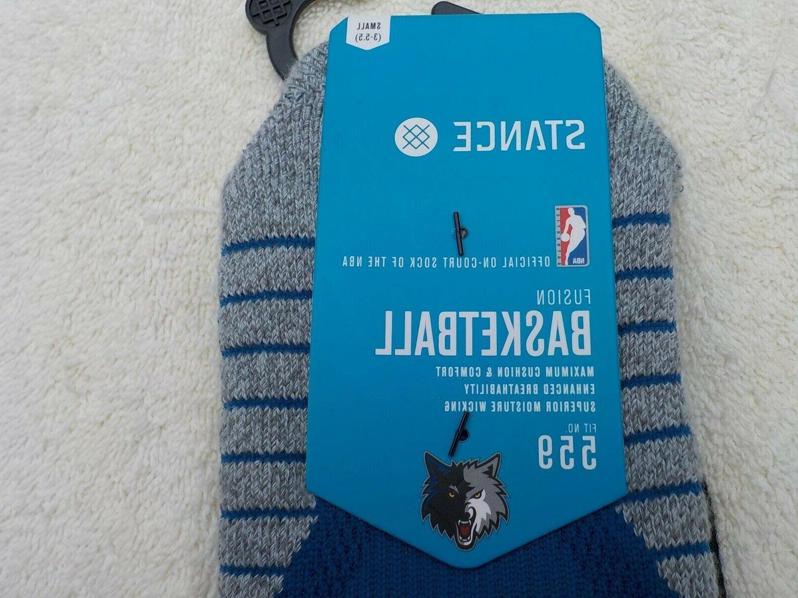 NWT Stance NBA basketball men's Milwaukee blue