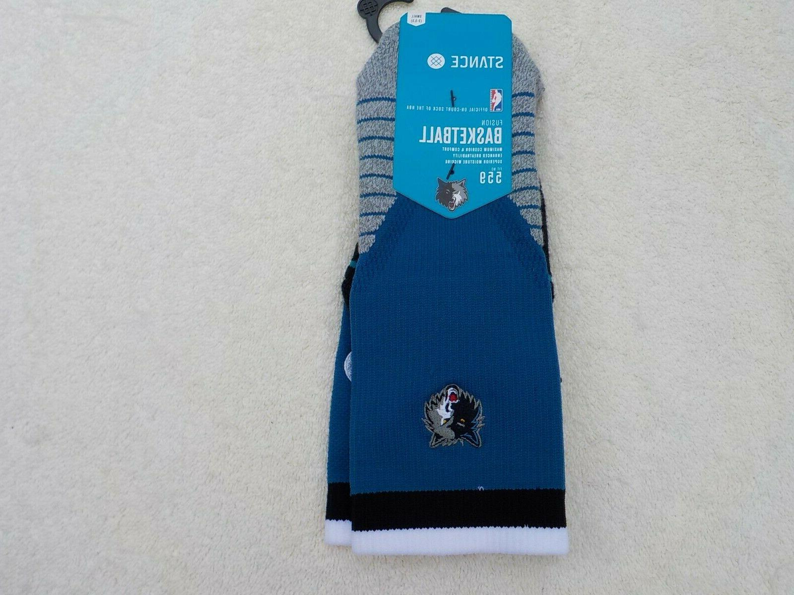 NWT Stance basketball socks, Milwaukee blue