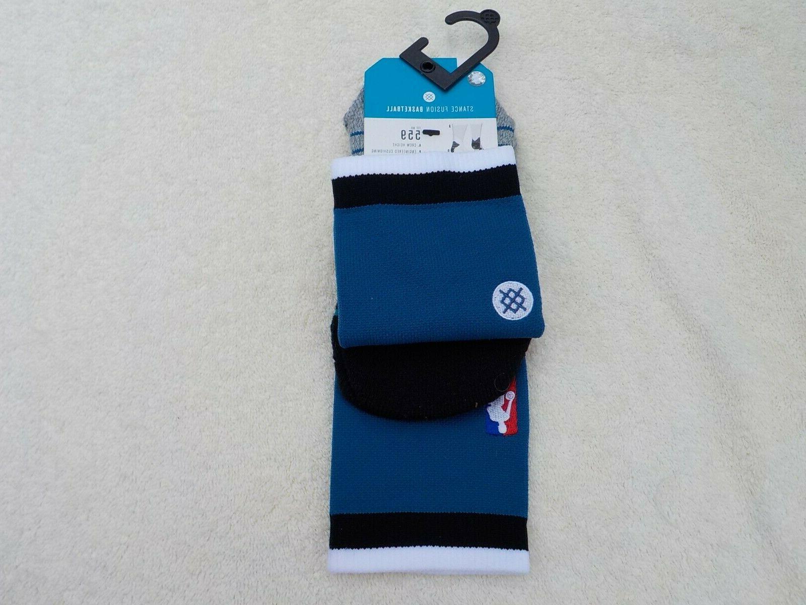nwt nba logo basketball socks men s