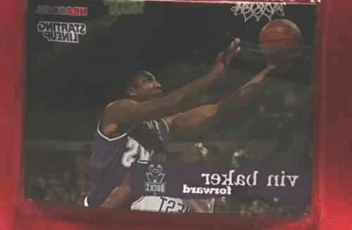 VIN BAKER - Milwaukee Bucks Kenner Starting Lineup NBA & Card