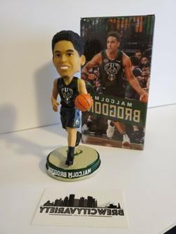 Malcom Brogdon Special Ticket Package Milwaukee Bucks Bobble