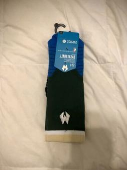 STANCE MENS SOCKS MILWAUKEE BUCKS LOGO CREW FIT NO. 559 Larg