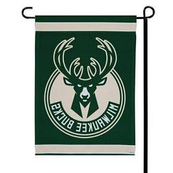 "WinCraft Milwaukee Bucks 12"" x 18"" Double-Sided Garden Flag"