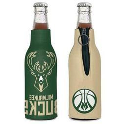 Milwaukee Bucks 12oz Two Sided Bottle Cooler  NBA Can Holder