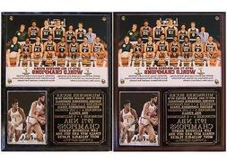 Milwaukee Bucks 1971 NBA Champions Photo Plaque Lew Alcindor