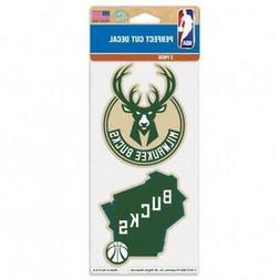 "Milwaukee Bucks 2 Pack 4""x4"" Car Decals  Decal Auto Emblem S"