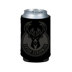 Milwaukee Bucks 2-Pack BLACK TONAL CAN Koozie Neoprene Holde