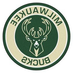"Milwaukee Bucks 27"" Roundel Area Rug Floor Mat"