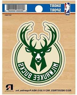 """Milwaukee Bucks 3"""" Flat Vinyl Die Cut Decal Bumper Sticker E"""